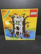 Vintage Lego Castle Forestmanand039s River Fortress 6077 New Sealed