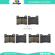 Motorcycle Front+rear Brake Pads For Norton Commander Rotary 1990