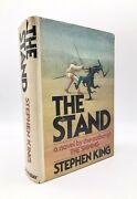 Stephen King The Stand Hardcover Bce Doubleday 1978 T45 Gutter Code W Mylar Dj
