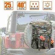 Overland Series Spare Tire Trash Bag, Tool And Gear Organizer Off-road Expedition