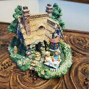 Cherished Teddies Village 1995 A Picnic For Two Figurine Tudor House