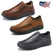 Us Men Microfiber Leather Antiskid Breathable Casual Shoes Slip-on Loafers Com