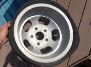 15x10 Us Indy Mag Slotted Aluminum Wheel 5 On 5.5 Pattern Ford Truck Bronco Jeep