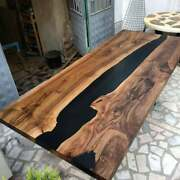 Epoxy Table Epoxy Resin River Table Natural Wood Dine Table Epoxy Wood Table