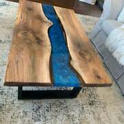 Live Edge Wood Epoxy Table Epoxy Resin Table Natural Wood Dining Table Decor