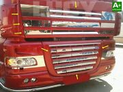 For Daf Xf 105 Stainless Steel Chrome Front Grill Complete Set