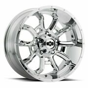 20 Vision Off Road Bomb 20x9 Chrome 6x135 Wheel 12mm For Ford Lincoln Truck Rim