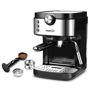 Espresso Machine 20 Bar Coffee Machine With Foaming Milk Frother Wand Removable