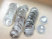 40 Coin Roll 90 Silver Statehood Quarters 40-coin Roll Proof S Mint Q3p1