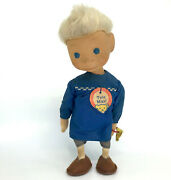 Steiff Doll Tele Maxl Tv Advertising Character 1958 Id Button 20cm 8in Rubber