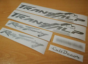 Decals Fits Transalp 600 Rally Touring - Motorcycle - Bike - Stickers Kit