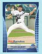 2016 Tyler Gilbert Lakewood Blueclaw Team Set Complete New Rare Stadium Giveaway