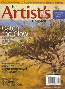 Artists Magazine Oil Copper Surface Pastel Under Layer Conifers And Hardwoods