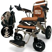 Electric Wheelchair For Adults Long Range All Terrain Lightweight Wheelchairs