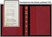 Five Pieces Of Runic Poetry Translated Fm Islandic Language 1763 Old Norse Percy