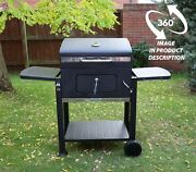 Charcoal Barbecue Bbq Grill Smoker Plus Cover And Free Tools
