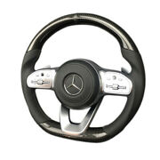 Steering Wheel Carbon Leather Mercedes-benz G Wagon W463a W222 W217 E C S G Cls