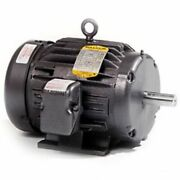 New Baldor 5 Hp Electric Motor 208-230/460 Vac 3 Phase 184t 1750 Rpm M3665t