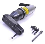 Jiffy Aircraft 2000 Sd2, 1/4-28 Pneumatic Drill With 90° Pancake Attachment