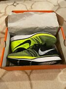 2012 Nike Flyknit Trainer+ Size 11 Neon Olympics Medal Stand Volt