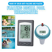 Wireless Digital Pool Spa Pond Hot Tub Floating Sensor Thermometer Outdoor