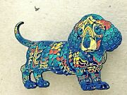 Bioworkz Solstice Dachshund Pin Edition Of 40 Sold Out Dog Puppy Like Steinman