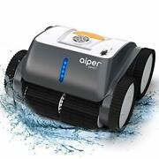 Cordless Robotic Pool Cleaner Wall-climbing Triple-motor Intelligent Route