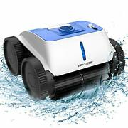 Cordless Robotic Pool Cleaner - Wall-climbing Function With Smart Route Plan