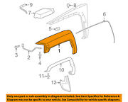 Hummer Gm Oem 06-10 H3-front Fender Flare Wheel Well Arch Molding Right 15852184