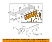 Gm Oem Pick Up Box Bed-inner Panel Right 22739524