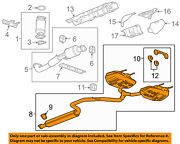 Buick Gm Oem 2011 Regal Exhaust System-exhaust Pipe 23415333