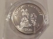 Odie And Garfield Christmas 1 Troy Ounce .999 Fine Silver 2013
