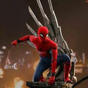 Hot Toy Spiderman Home Coming Deluxe Version 14 Scale Figure Qs015