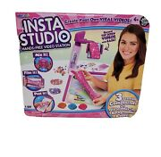 Insta Studio Hands-free Video Station Record Viral Videos Sealed - New