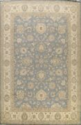 Vegetable Dye Peshawar Floral Oriental Area Rug Palace Size Hand-knotted 12and039x15and039