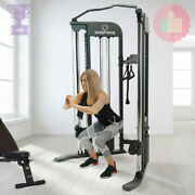Inspire Fitness Ftx Functional Trainer Home Gym + Bench And 1 Year Of App Included