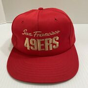 Team Nfl San Francisco 49ers Red Hat Cap One Size Fits All Mcdonalds