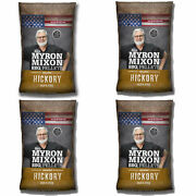 Myron Mixon Smokers Wood Bbq Pellets For Smoking And Grilling Hickory 4 Pack