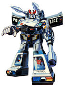 Vintage 100 Complete And Unbroken Transformers G1 Prowl Police Car B19