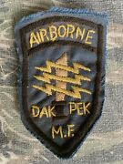 Vietnam War 5th Special Forces Green Beret Macv Sog Cia Mike Force Theater Patch