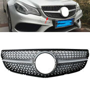 Front Bumper Air Intake Grille For 2014-16 Mercedes-benz W207 E Class Coupe 2dr