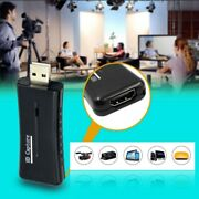 Hdmi To Usb Video Capture Card 720p Hd Recorder Game Video Live Streaming