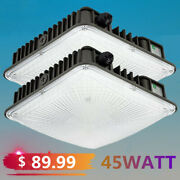 45w 70w Led Canopy Light Commerical Outdoor Gas Station Square Led Lights Ip65