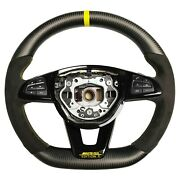 Customized Steering Wheel Matte Carbon Compatible With Mercedes C63 W205 C Class