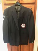 1980 - 1999 Game Used Mlb American League Umpire Dave Phillips 7 Plate Jacket