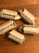 1964 90 Us Kennedy Half Dollars In 50 Face Lots 5 Rolls - 100 Coin Lots