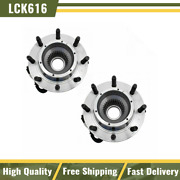 Timken Sp940200 Front Wheel Hub And Bearing Pair Set For Ford Truck 4wd Super Duty