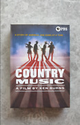 Country Music A Film By Ken Burns Dvd 8-disc Free Shipping