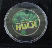 The Incredible Hulk - The Morgan Mint Jfk 2003 Coin In Case