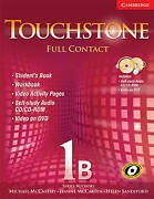 Touchstone 1b Full Contact With Ntsc Dvd Very Good Condition Book